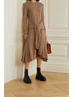 J.w.anderson tie-front wool midi dress
