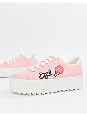Kaltur ice cream flatform sneakers