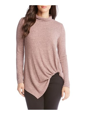 Karen Kane asymmetrical turtleneck sweater