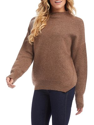 Karen Kane funnel neck sweater