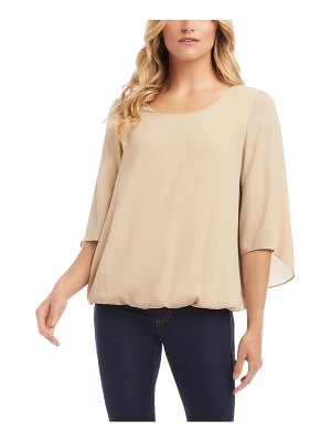 Karen Kane twist back crepe top