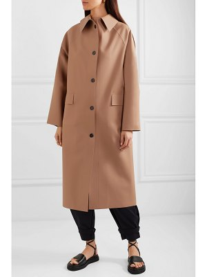 Kassl Editions faux leather coat