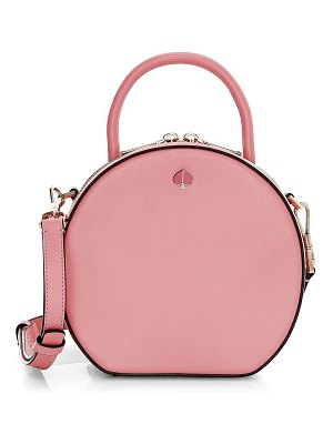 Kate Spade New York andi round canteen leather crossbody bag