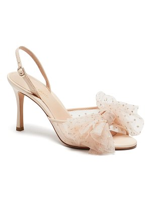 Kate Spade New York bridal sparkle tulle sandals