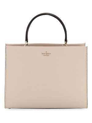 Kate Spade New York cameron street sarah crosshatch leather satchel bag