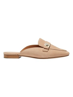 Kate Spade New York catroux suede loafer mules