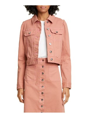 Kate Spade New York crop denim jacket