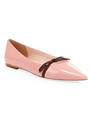 Kate Spade New York donna patent leather point-toe flats