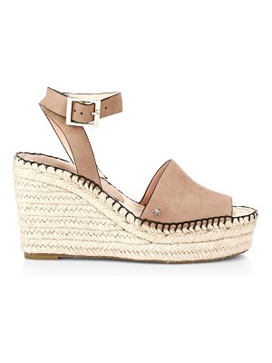 Kate Spade New York felipa suede espadrille wedges