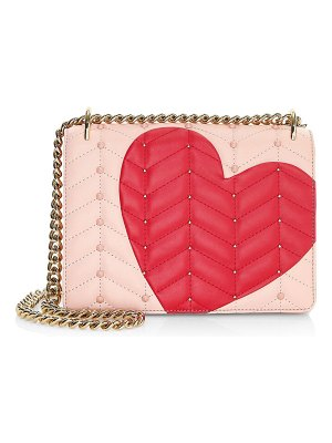 Kate Spade New York heart it leather bag