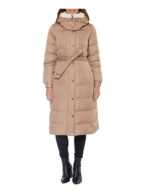 Kate Spade New York heavyweight belted maxi down coat