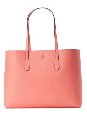 Kate Spade New York large molly falling flower leather tote