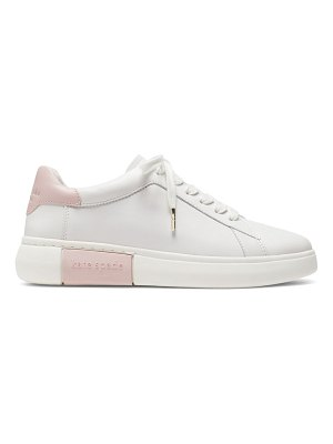 Kate Spade New York lift leather sneakers