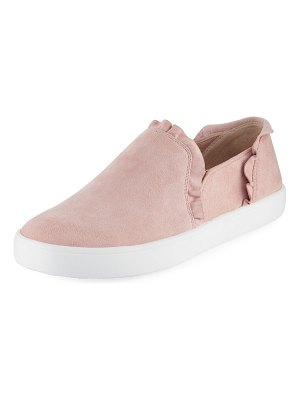 Kate Spade New York Lilly Ruffle Suede Sneakers