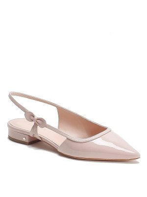 Kate Spade New York mae bow slingback pointed toe flat