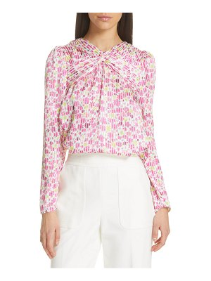 Kate Spade New York marker floral devore top