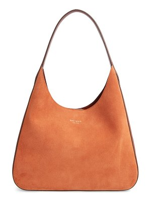 Kate Spade New York medium rita suede & leather hobo