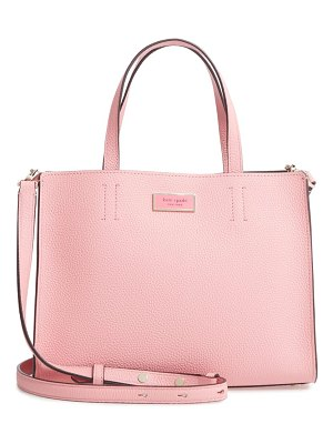 Kate Spade New York medium sam leather satchel