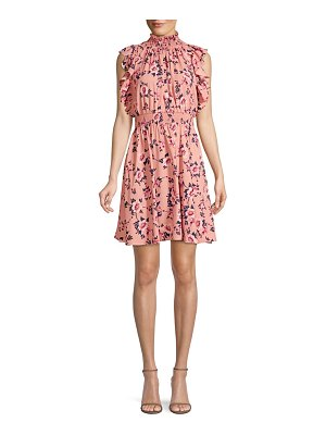 Kate Spade New York prairie rose flutter mini dress