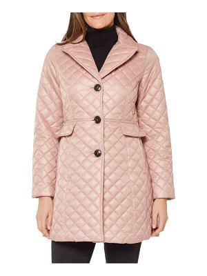 Kate Spade New York quilted flared jacket