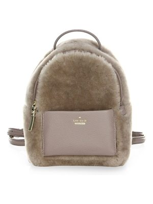 KATE SPADE NEW YORK Shearling Backpack