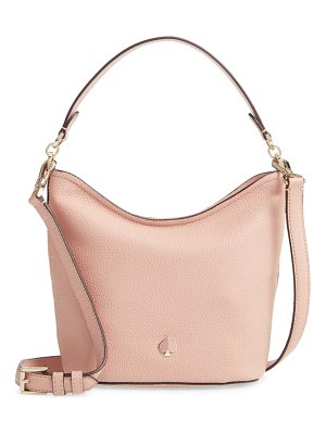 Kate Spade New York small polly leather hobo bag