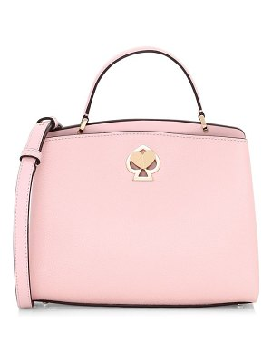 Kate Spade New York small romy twistlock leather satchel