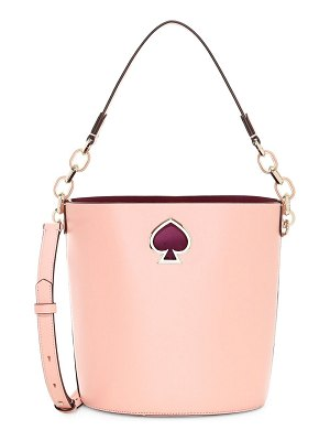 Kate Spade New York small suzy leather bucket bag