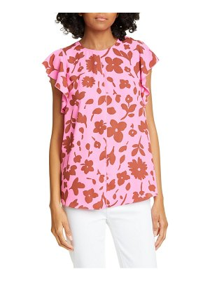 Kate Spade New York splash flutter sleeve top