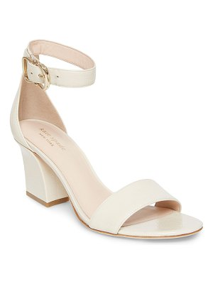 Kate Spade New York susane leather ankle-wrap sandals