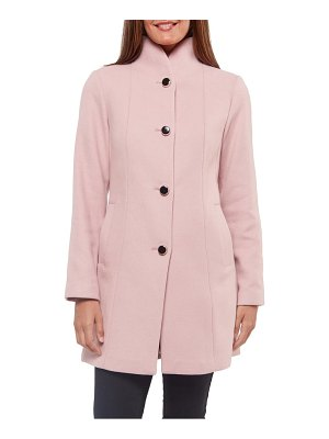 Kate Spade New York wool blend twill coat