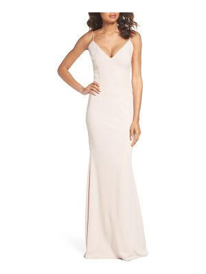 KATIE MAY Cutout Mermaid Gown