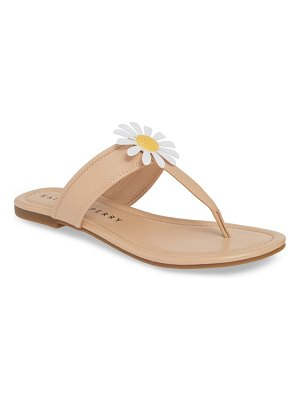 Katy Perry forget me knot floral flip flop