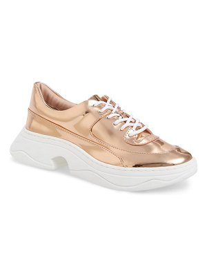 Katy Perry vandall metallic sneaker