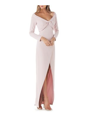 Kay Unger cross front gown