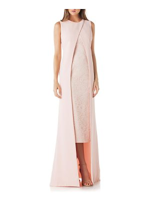 KAY UNGER Overlay Lace Gown