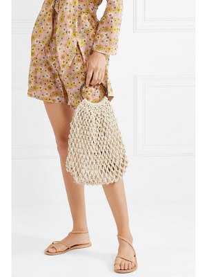 Kayu andie woven cotton tote