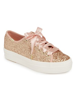 Keds for kate spade new York keds x kate spade new york triple kick glitter sneaker
