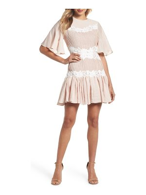 Keepsake all mine applique minidress