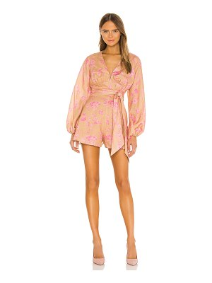 Keepsake fallen long sleeve romper