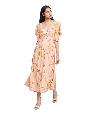 Keepsake forever midi dress