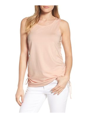 Kenneth Cole cinched drawstring tank