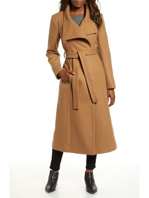 Kenneth Cole fencer melton wool maxi coat