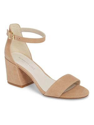 KENNETH COLE Hannon Block Heel Ankle Strap Sandal
