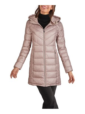 Kenneth Cole hooded puffer coat