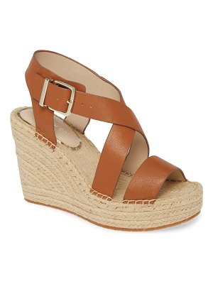 Kenneth Cole olivia espadrille wedge platform sandal