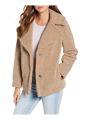 Kensie teddy bear coat