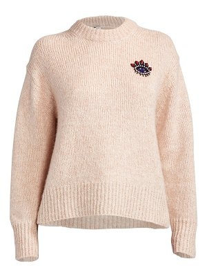 KENZO beaded eye crest sweater