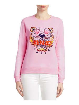 KENZO classic embroidered tiger sweatshirt