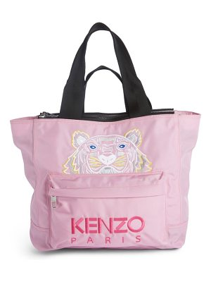 KENZO Large Kanvas Embroidered Tiger Tote